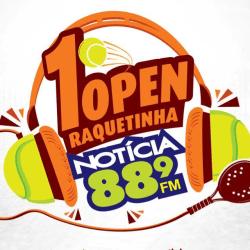1º NOTÍCIA FM Open Raquetinha - D