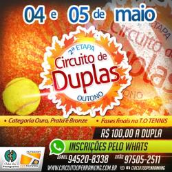 Circuito de Duplas Etapa Outono - Ouro