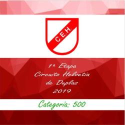 1ª Etapa Circuito Helvetia 2019 - Simples - 1000