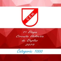1ª Etapa Circuito Helvetia 2019 - Duplas - Master 1000