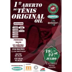 1º Aberto de Tênis ORIGINAL OIL - Quinta Classe Masculino