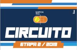 CIRCUITO BARTON - 2 ETAPA / 2019 - RANKING A