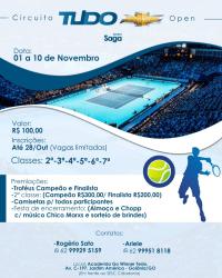 Circuito Tudo Open Grupo Saga - 3ª Classe