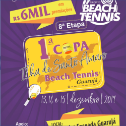 1ª Copa Ilha de Santo Amaro de Beach Tennis - Masculina - Dupla 50+