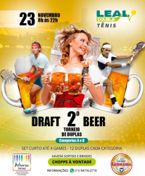 2º Torneio Draft Beer de Duplas Leal Double/2019 - Categoria A