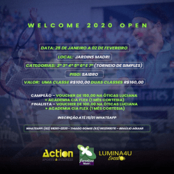 Welcome 2020 Open - 4ª Classe