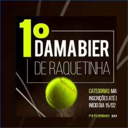Tottispin - 1º Dama Bier de Raquetinha