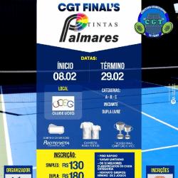 CGT FINALS TINTAS PALMARES 2019 - Duplas Livre