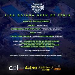 Liga Goiana Open de Tênis 3º Classe - 3ª Classe