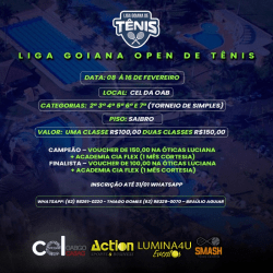 Liga Goiana Open de Tênis 6º Classe - 6ª Classe