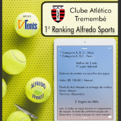 1° Ranking Alfredo Sports - CAT B Masc