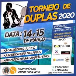 TORNEIO DE DUPLAS 2020 - B