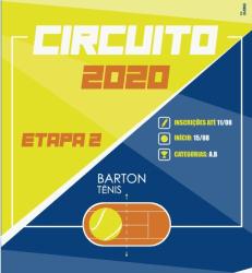 CIRCUITO BARTON - 2 ETAPA / 2020 - RANKING A