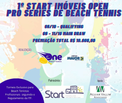1º START IMÓVEIS OPEN PRO SERIES DE BEACH TENNIS ONE BEACH TENNIS/ ARENA MAIOR SEGUROS - Masculino Profissional