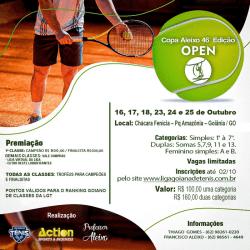 Copa Aleixo de Tênis - (Feminino) - INICIANTE