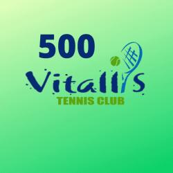 2º TORNEIO VITALLIS - 500