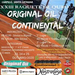 XXIII Raquete De Ouro ORIGINAL OIL - Quarta Classe