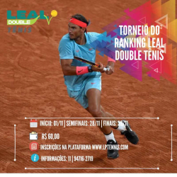 IV - Torneio Leal Double 2020 - Master 250