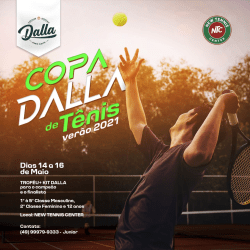 Copa DALLA de Tênis verão 2021 - 3° Classe