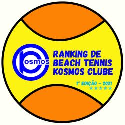 KOSMOS RANKING BEACH TENNIS 2021 - CHAVE MASCULINA