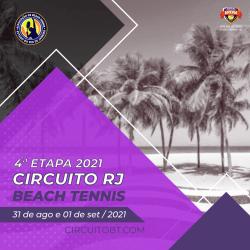 4° Etapa do Circuito RJ de Beach Tennis 2021