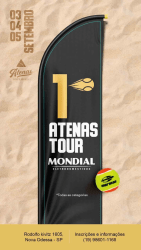 1° Atenas Tour Mondial - PRO - MASCULINO