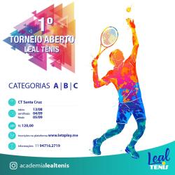 1. Torneio Aberto Leal Tênis - CT/2021 - Categoria B