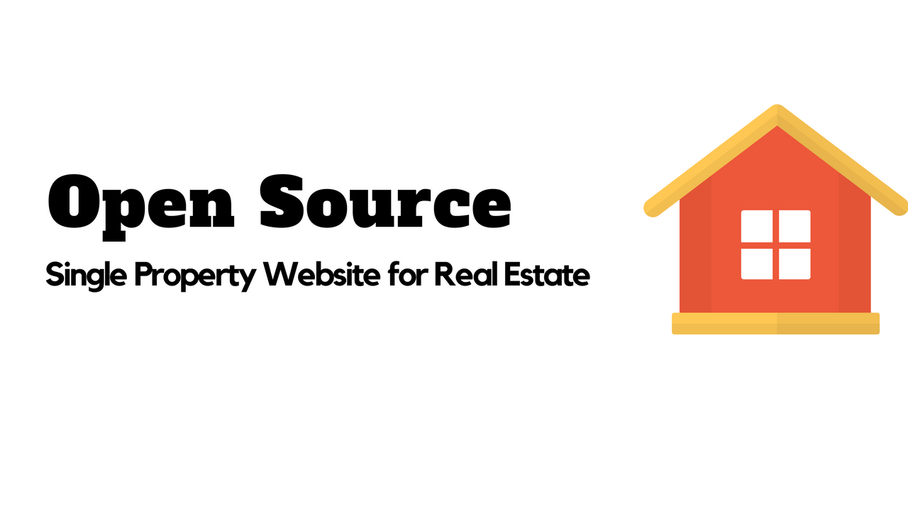 Single Property Real Estate Website
