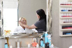 Nectar Spa & Salon Make-Up Application Station