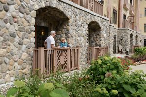 Hotel Room Garden Access