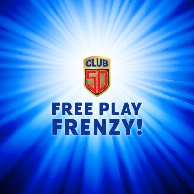 Club 50 Free Play Frenzy