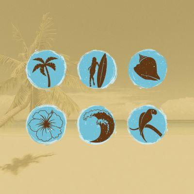 Pick a Beach Symbol