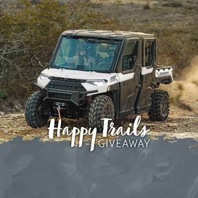 Happy Trails Giveaway