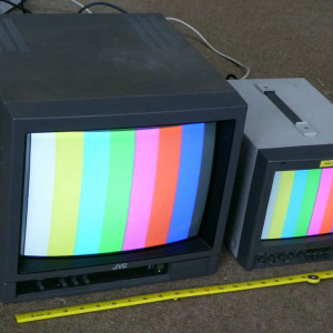 Monitors, VCRs & video equipment