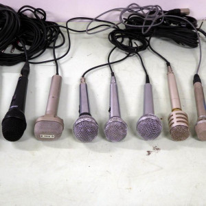 Microphones & microphone stands