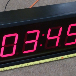 Counters, clocks, timers & scrolling LED signs