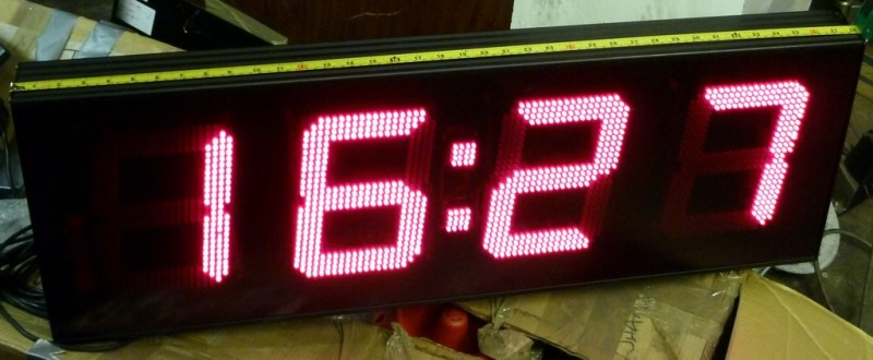 Giant 4 digit counter/timer/clock