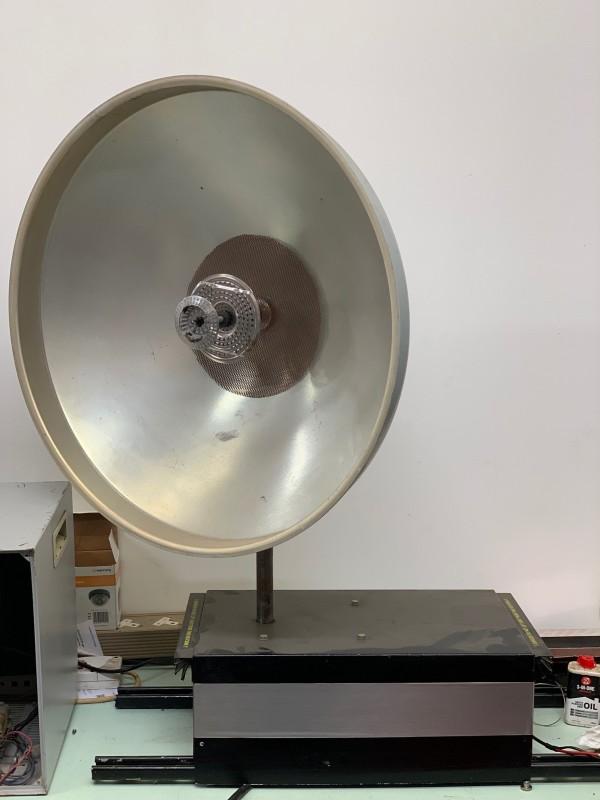 Practical rotating radar/satellite/microwave communications dish