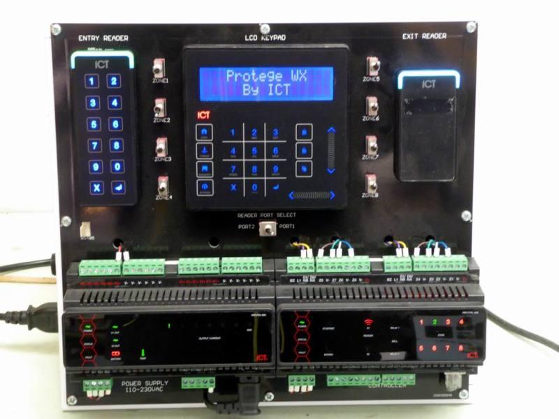 Hi tech electronics alarm control panel desktop dressing
