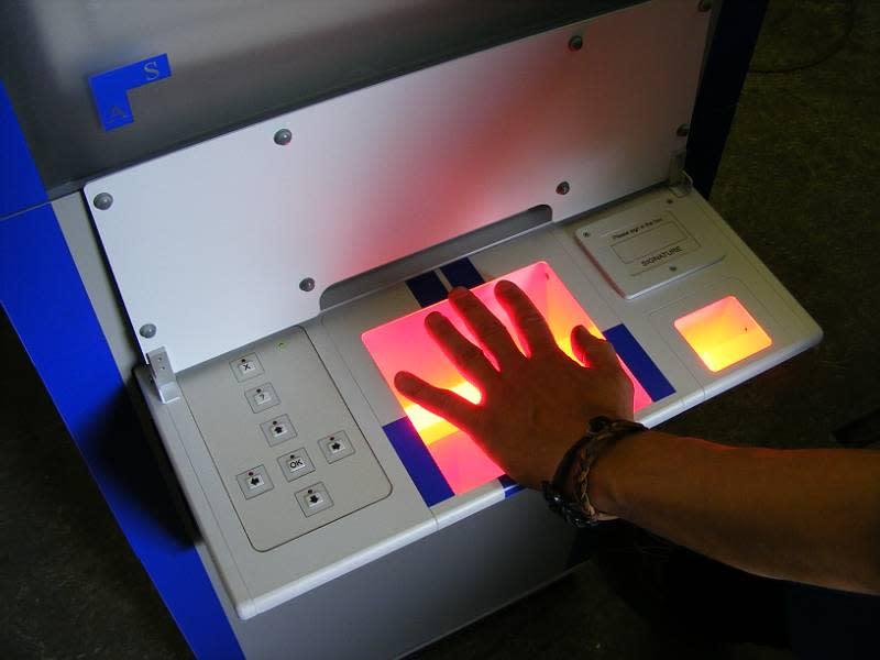 Police station practical fingerprint system
