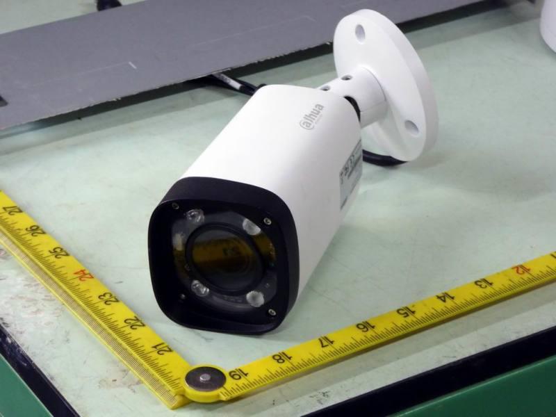 Modern internal or external wall or ceiling mountable CCTV camera