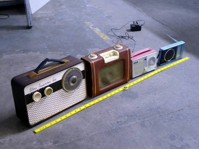 Further selection of portable transistor radios