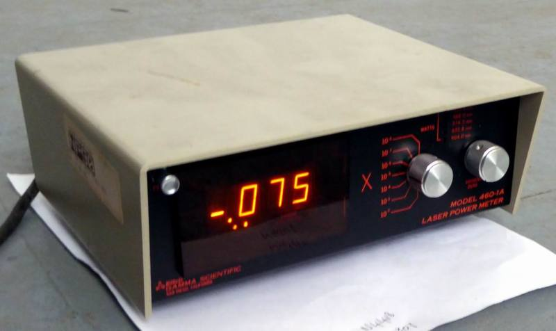 Practical laboratory Laser digital power meter