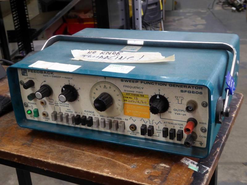 Practical laboratory oscillator/function generator/wobble box