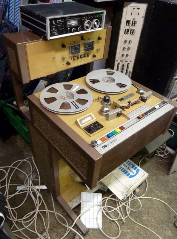 1960s professional editing tape recorder