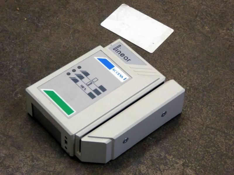 Swipe card door entry controller box