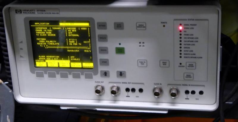 Datacomms practical laboratory instrument.