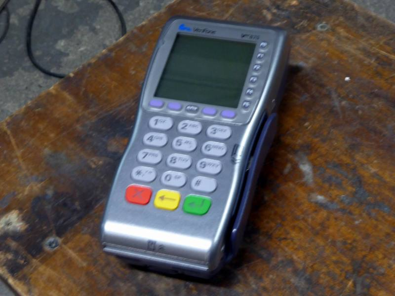 Point of sale card reader