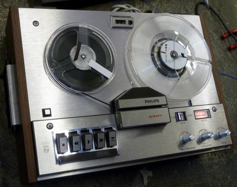 Philips 1968-1970 period tape recorder