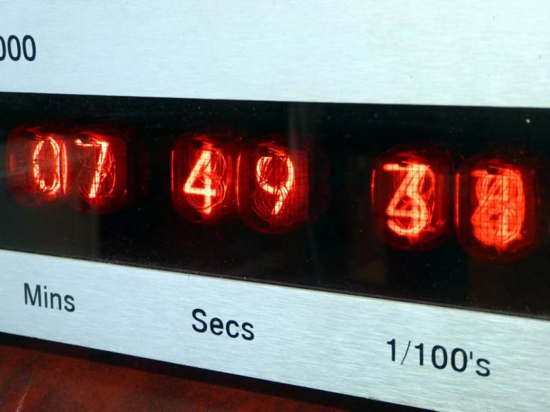 Programmable Nixie tube counter/timer/clock